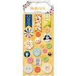 BoBunny - Calendar Girl Collection - Buttons