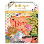 Bo Bunny - Calendar Girl Collection - Noteworthy Journaling Cards