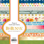 Bo Bunny - Calendar Girl Collection - 6 x 6 Paper Pad