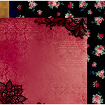 BoBunny - Love and Lace Collection - 12 x 12 Double Sided Paper - Cherish
