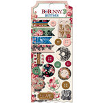 BoBunny - Love and Lace Collection - Buttons