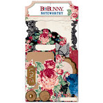 BoBunny - Love and Lace Collection - Noteworthy Journaling Cards