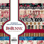 BoBunny - Love and Lace Collection - 6 x 6 Paper Pad