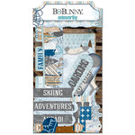 Bo Bunny - Whiteout Collection - Noteworthy Journaling Cards