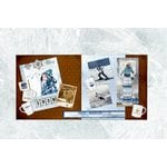 BoBunny - Whiteout Collection - 2 Page Layout Kit