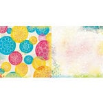 BoBunny - Believe Collection - 12 x 12 Double Sided Paper - Joyous