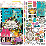 BoBunny - Believe Collection - Noteworthy Journaling Cards