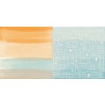 BoBunny - Beach Therapy Collection - 12 x 12 Double Sided Paper - Breeze