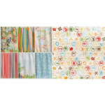 BoBunny - Beach Therapy Collection - 12 x 12 Double Sided Paper - Cove
