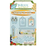 BoBunny - Beach Therapy Collection - Layered Chipboard Stickers
