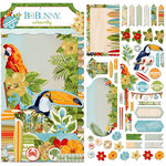BoBunny - Beach Therapy Collection - Noteworthy Journaling Cards