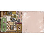 BoBunny - Beautiful Dreamer Collection - 12 x 12 Double Sided Paper - Imagine