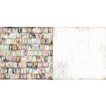 BoBunny - Beautiful Dreamer Collection - 12 x 12 Double Sided Paper - Journal