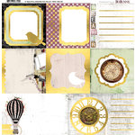 BoBunny - Beautiful Dreamer Collection - 12 x 12 Vellum with Foil Accents