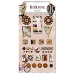 BoBunny - Beautiful Dreamer Collection - Brads