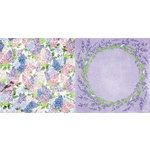 BoBunny - Secret Garden Collection - 12 x 12 Double Sided Paper - Secret Garden