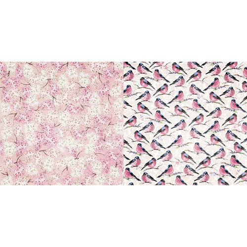 BoBunny - Secret Garden Collection - 12 x 12 Double Sided Paper - Bloom