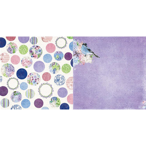 BoBunny - Secret Garden Collection - 12 x 12 Double Sided Paper - Greenhouse