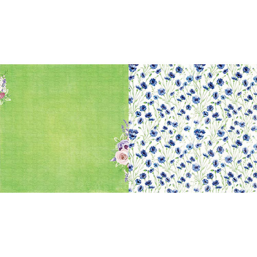 BoBunny - Secret Garden Collection - 12 x 12 Double Sided Paper - Planted
