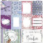 BoBunny - Secret Garden Collection - 12 x 12 Vellum with Foil Accents
