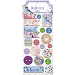 BoBunny - Secret Garden Collection - Buttons