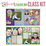 BoBunny - Secret Garden Collection - 4-Page Layout Kit