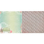 BoBunny - Soiree Collection - 12 x 12 Double Sided Paper - Allure