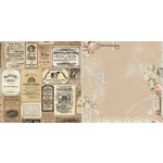 BoBunny - Soiree Collection - 12 x 12 Double Sided Paper - Boutique