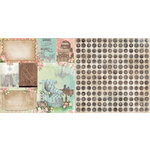 BoBunny - Soiree Collection - 12 x 12 Double Sided Paper - Home