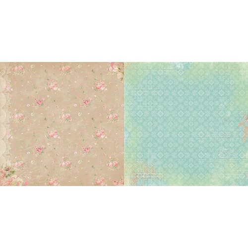 BoBunny - Soiree Collection - 12 x 12 Double Sided Paper - Linens