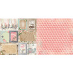 BoBunny - Soiree Collection - 12 x 12 Double Sided Paper - Splendid
