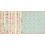 BoBunny - Soiree Collection - 12 x 12 Double Sided Paper - Stripe