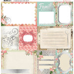 BoBunny - Soiree Collection - 12 x 12 Vellum with Foil Accents