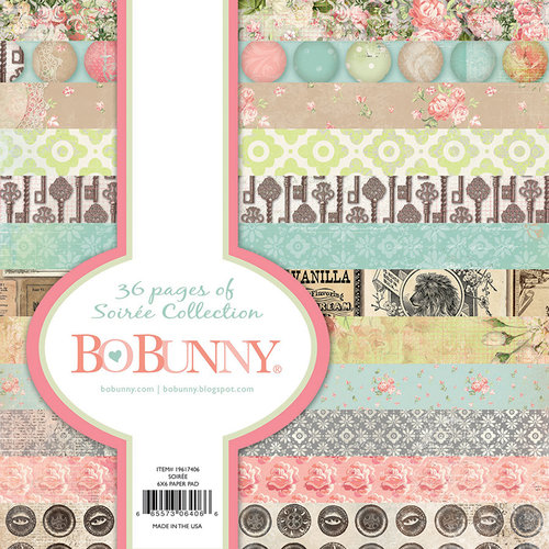 BoBunny - Soiree Collection - 6 x 6 Paper Pad