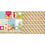 BoBunny - Toy Box Collection - 12 x 12 Double Sided Paper - Toy Box