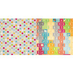 BoBunny - Toy Box Collection - 12 x 12 Double Sided Paper - Circles