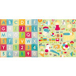BoBunny - Toy Box Collection - 12 x 12 Double Sided Paper - Imagine