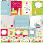 BoBunny - Toy Box Collection - 12 x 12 Vellum with Foil Accents