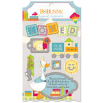 BoBunny - Toy Box Collection - Layered Chipboard Stickers