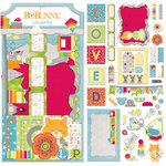 BoBunny - Toy Box Collection - Noteworthy Journaling Cards