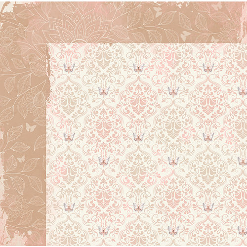 BoBunny - Butterfly Kisses Collection - 12 x 12 Double Sided Paper - Breeze