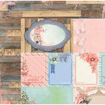 BoBunny - Butterfly Kisses Collection - 12 x 12 Double Sided Paper - Flutter