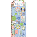 BoBunny - Butterfly Kisses Collection - Buttons