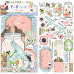 BoBunny - Butterfly Kisses Collection - Noteworthy Journaling Cards