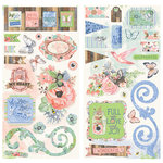 BoBunny - Butterfly Kisses Collection - Chipboard Stickers