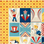 BoBunny - Firecracker Collection - 12 x 12 Double Sided Paper - Anthem