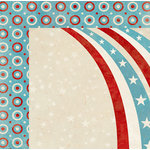 BoBunny - Firecracker Collection - 12 x 12 Double Sided Paper - Celebration