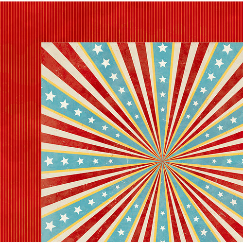 BoBunny - Firecracker Collection - 12 x 12 Double Sided Paper - Honor