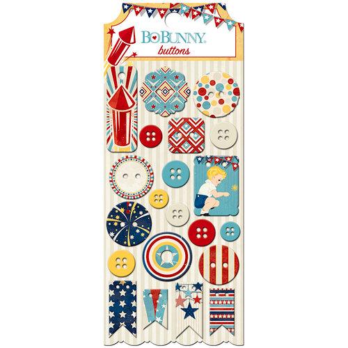 BoBunny - Firecracker Collection - Buttons