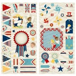 BoBunny - Firecracker Collection - Chipboard Stickers